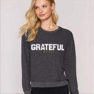 SPIRITUAL GANGSTER Grateful Crew Neck Savasana Med